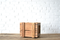 Wooden Crate #4