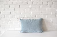 Pillow - Light Blue Rectangle