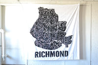 RVA Neighborhood Map Backdrop