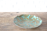 Jade Paisley Bowl