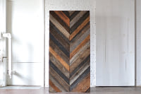 Chevron Wooden Backdrop