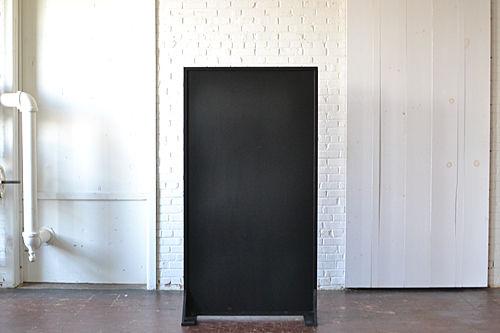 Freestanding Chalkboard Panel