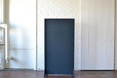 Freestanding Navy blue Panel