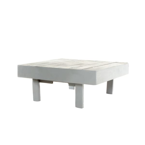 wooden ottoman with 4 legs, can be painted any color