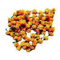 5' Orange Marigold Garlands