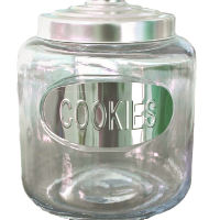 Glass Cookie Jars with Lids