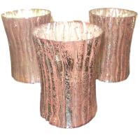 Pink Bark Vases