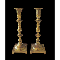Brass Candlesticks #317