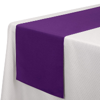 Royal Purple Table Runners