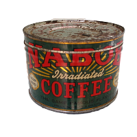Vintage Nabob Coffee Tin