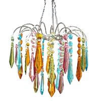 Jewel Tone Chandelier