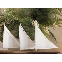 Driftwood and Cotton Sailboats