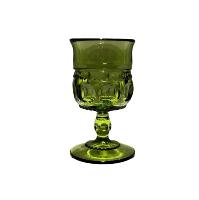 Vintage Green Shot Glasses - TINY