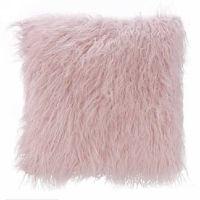 Pink Faux Fur Pillows