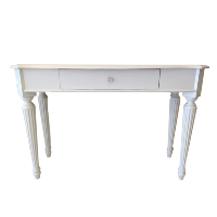 White Writing Table-Standing Height