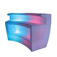 White Curved LED Bars
