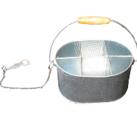 Metal Caddy with Bottle Opener