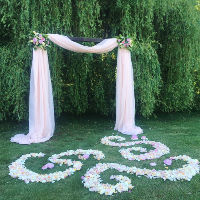 Fabric Backdrops/Ceremony Setup