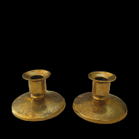 Brass Candlesticks #323