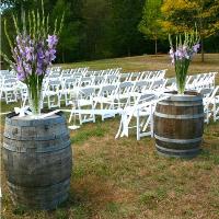 Wine Barrels,  Smore Box, Trees
