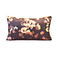 Moody Floral Oblong Pillow