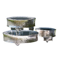 Silver Cake Stand - Large