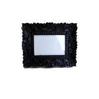 Black Ornate Rectangle Frame