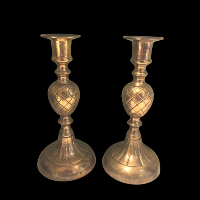 Brass Candlesticks #340