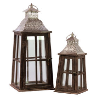 Unique Wooden Lanterns - 3 Sizes and Mixed Styles