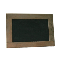 Small Wood and Chalkboard Standup Frames