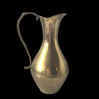 Brass Vase Pitcher