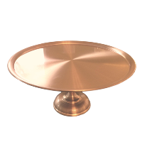 Large Copper Cake Stand