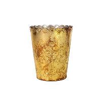 Gold Medium Vase Holder