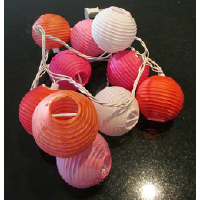 Tropical Mini Paper Lanterns