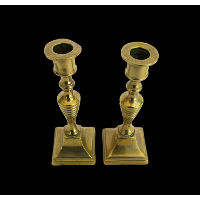 Brass Candlesticks #339