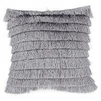Grey Fringe Pillows