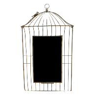 Bird on a Wire Chalkboard Frame