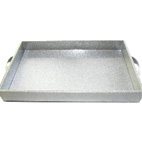 Sparkly Silver Tray