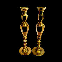 Brass Candlesticks #328