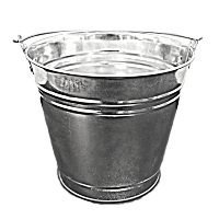 Aisle Flower Buckets