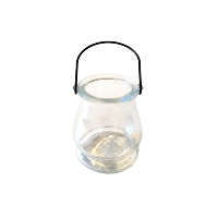 Mini Glass Lanterns with Handles