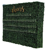 Boxwood Champagne Wall