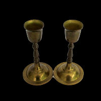 Brass Candlesticks #338