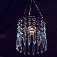 Hanging Mini-Palace Chandeliers