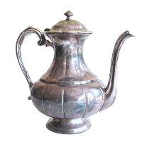 Vintage Silver Teapot - S1