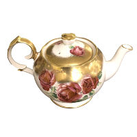 Vintage Roses Teapot