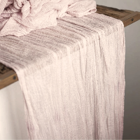 Blush Pink Table Runners - 16'