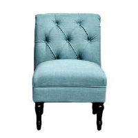 Blue Slipper Chairs
