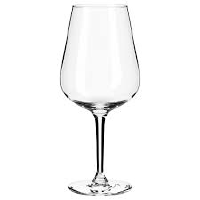 Clear Red Wine Glasses