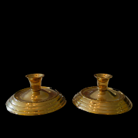 Brass Candlesticks #399